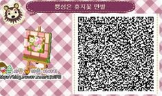Animal Crossing: New Leaf & HHD QR Code Paths — mayorharu: qr codes for the path i'm using. Qr Code Animal Crossing, Animal Crossing Qr Codes Clothes, Code Wallpaper, Heart Wallpaper, Rilakkuma, Flag Code, Acnl Paths, Dream Code, Motif Acnl