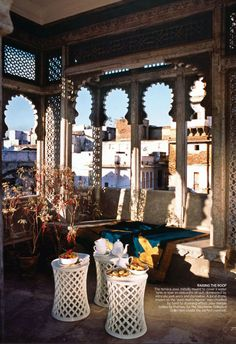 Historical architecture 18th century home in Jaipur India from AD India