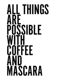 pinterest   //  @oliviayorton   #coffee #makeup #life #monday #work