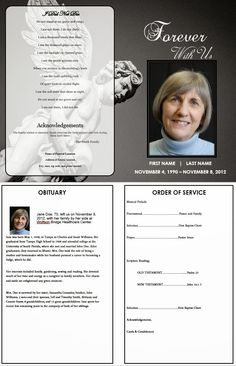 catholic funeral mass program