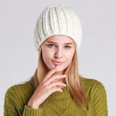 a3c54dfe829 Cable Knit Winter Beanie  7 Variants . Cheap BeaniesAcrylic ...