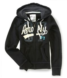 Aero NY Full-Zip Hoodie - Aeropostale I have this one (: