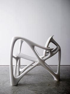Joris Laarman Lab | Bone Armchair | 2008 | Cast marble resin