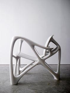 Joris Laarman Lab   Bone Armchair   2008   Cast marble resin