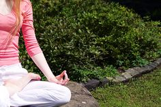 Get relief from daily stress! Just a few minutes of meditation can clear your mind and help you calm down.