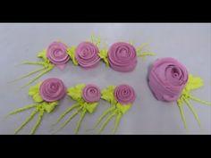 Como Fazer rosas em Chantilly - YouTube