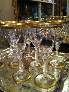 Vintage glassware sets