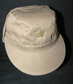 USSR Soviet Military SOLDIER'S Russian Hat CAP MODEL WW2 FIELD FORCE WITH STAR