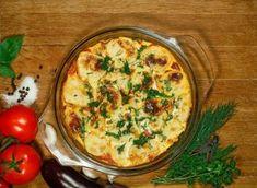 Mâncăruri de post delicioase – top trei reţete pe care trebuie să le încerci Quiche, Feta, Veggies, Breakfast, Recipes, Kitchens, Moussaka Recipe, Peeling Potatoes, Souffle Dish