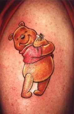I love Pooh Bear.