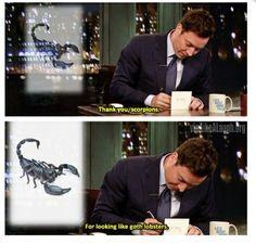 Thank you Scorpions