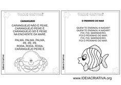 Álbum Ilustrado Cantigas de Roda Folclore Bullet Journal, Teaching, Comics, Education, Eliana, Gisele, Index Cards, Literature