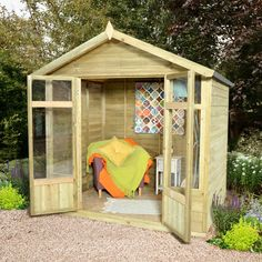 7x5 Lechlade Summerhouse | Buy Sheds Direct