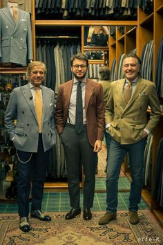 thebespokedudes: A Dwarf among Giants - Backstage from my video interview with Lino and Giampaolo