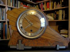 my art deco clock with a double Westminster chime by chris 9, via Flickr