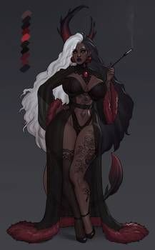 Female Character Design, Character Design Inspiration, Character Art, Character Concept, Black Vampire, Vampire Art, Fantasy Characters, Female Characters, Black Girl Cartoon