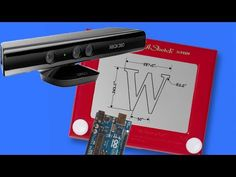 The Kinect-A-Sketch: A Homebrew RoboticSketcher