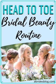 Getting ready for the big implies a series of preparations and tricks to look and feel at your best on the big day. So, I've put together a bridal beauty routine checklist of what you'll need to do to be ready, glowing and beautiful for your wedding day! #bridalbeauty #bridalbeautyroutine #weddingbeauty #bridalchecklist Bridal Beauty, Wedding Beauty, Wedding Day, Beauty Routine Checklist, Beauty Routines, Head To Toe, Diet Tips, Hair Hacks, Beauty Hacks