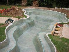 Bassin modulable - service bassin aquatique en polyester pour jardin ...