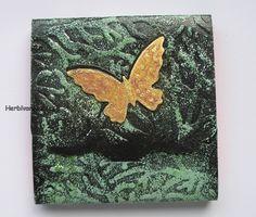 Schmetterling im Wald - Notizbüchlein Nr. 29 Passport, Notebook, Insects, Woodland Forest
