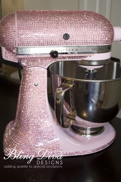 Sparkly KitchenAid Mixer — A DIY Inspiration - Craftfoxes
