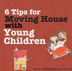 moving house with young children