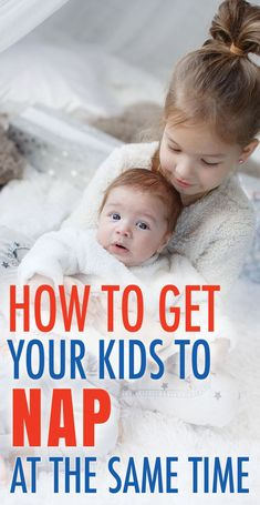 How to Get Your Kids to Nap At the Same Time. Every mama loves a little time to herself. Use these tips to get both of your kids to nap at the same time. Line up their sleep schedules! #sleep #babies