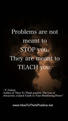 Problems Are Not Meant to Stop You  #quotes #motivation #inspiration