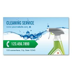 150 best house cleaning business cards images on pinterest blue water bubbles cleaning service business card colourmoves