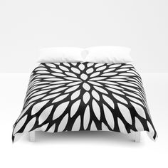 White Leaves Duvet Cover by laurafrere White Leaf, Graphic, Illustration, Duvet Covers, Leaves, Throw Pillows, Patterns, Bed, Pattern