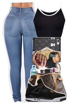"""""""⚫️⚪️"""" by kickinback-andvibin ❤ liked on Polyvore featuring Rolex and NIKE"""