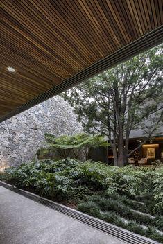Gallery of VR House / Alexanderson Arquitectos - 10 Design Exterior, Patio Design, Interior And Exterior, House Design, Loft Design, Landscape Plans, Landscape Architecture, Interior Architecture, Landscape Design