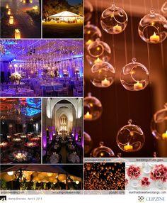 Creative Lighting Wedding Decor