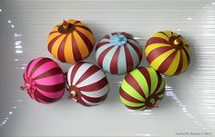 Paper Ornaments - The Chocolate Collection