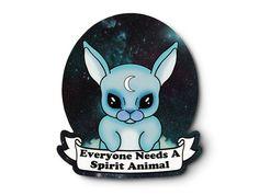 You Need A Spirit Animal Sticker  Pastel Grunge by AtomicLace