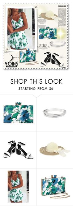 """""""YOINS Floral Clutch Bag Contest"""" by miranda-993 ❤ liked on Polyvore featuring yoins"""
