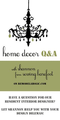 Home Decor Q&A with Shannon @Shannon @ Sewing Barefoot - How To Brighten A Dark Space, Put Together a Southwest Kitchen, and Choose Paint Colors| #remodelaholic