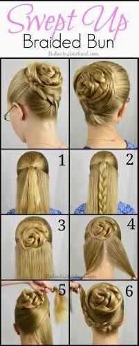 peinados faciles y rapidos paso a paso