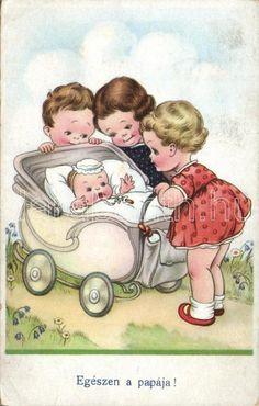 Children Postcard Baby Mabel Lucie Attwell WS86037 | eBay
