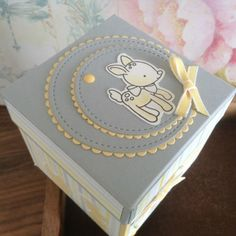 My Stampart - Baby, Stampin' Up! Explosions Box
