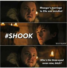 Who's the Three-Eyed Raven now bitch?! 7.7 Game of Thrones.