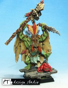 Wurrzag Savage Orc Shaman