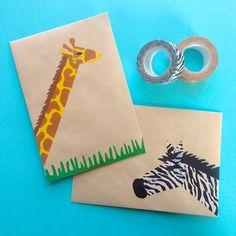 Omiyage Blogs: Send Pretty Mail #39/40 - Safari Mail