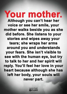 Love My Mom Quotes, Mom In Heaven Quotes, Mothers Love Quotes, Mother Quotes, Prayer Quotes, Wisdom Quotes, True Quotes, Mom I Miss You, I Love Mom