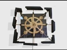 Kinetic Wall Sculptures by Brett Dickins. - YouTube