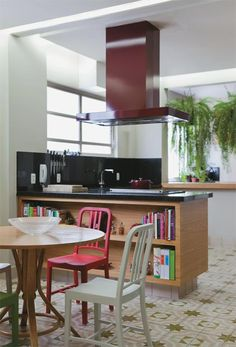 open kitchen #decor #cozinhas #kitchens