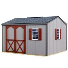 Best Barns Cypress 12 Ft X 10 Ft Wood Storage Shed Kit With Floor with regard to sizing 1000 X 1000 Cypress 12 Ft X 10 Ft Wood Storage Shed Kit - Wooden Build A Shed Kit, Diy Shed Kits, Diy Storage Shed Plans, Wood Storage Sheds, Outdoor Storage Sheds, Wood Shed, Building A Shed, Built In Storage, Building Plans