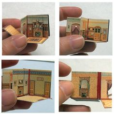 McLoughlin's New Folding Doll House | Open House Miniatures