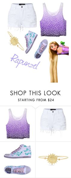"""Rapunzel"" by methebault ❤ liked on Polyvore featuring LE3NO, Soisire Soiebleu and Orit Elhanati"