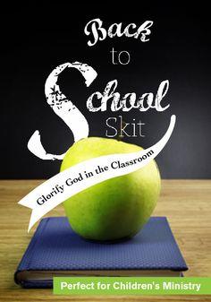 Back to School Skit for Kids